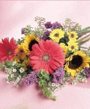 Summer Mixed flowers designed to fit your budget